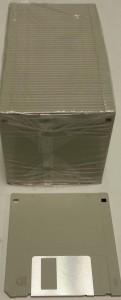 """3.5"""" 1.44Mb Med Grey Floppy Disks"""