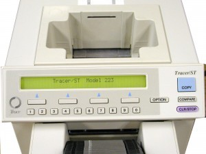Tracer ST Disk Duplicator Front LCD Menu
