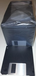 "3.5"" 1.44Mb Black Floppy Disks"