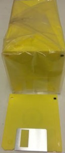 "3.5"" 1.44Mb Yellow Floppy Disks"